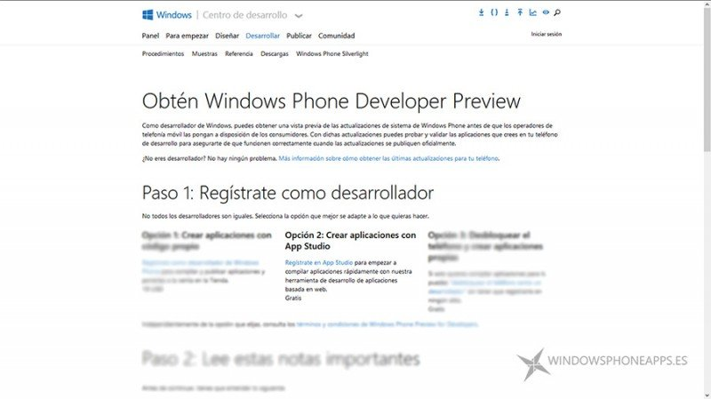"""Punto 1 del paso 1 del tutorial """"Como conseguir Cortana en español"""""""