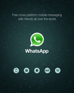 whatsapp para Windows Phone con mango