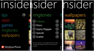 Insider para Windows Phone