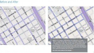 BingMap antes y despues