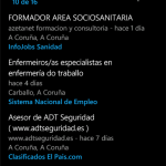 Choio, encuentra trabajo con Windows phone