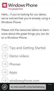 Emulador WP en Windows Phone