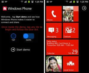 Demo WP7 para Android e IOS
