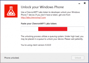 chevronwp7 desbloqueado
