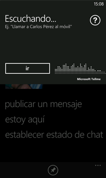 Comandos de Voz en Windows Phone 7 (TellMe)