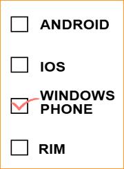 Los desarrolladores prefieren Windows Phone a Blackberry