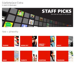 Marketplace Extra
