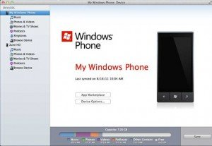 Windows Phone Connector para Mac