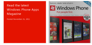 Windows phone apps magazine