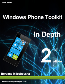 Windows Phone toolkit 2ª edición