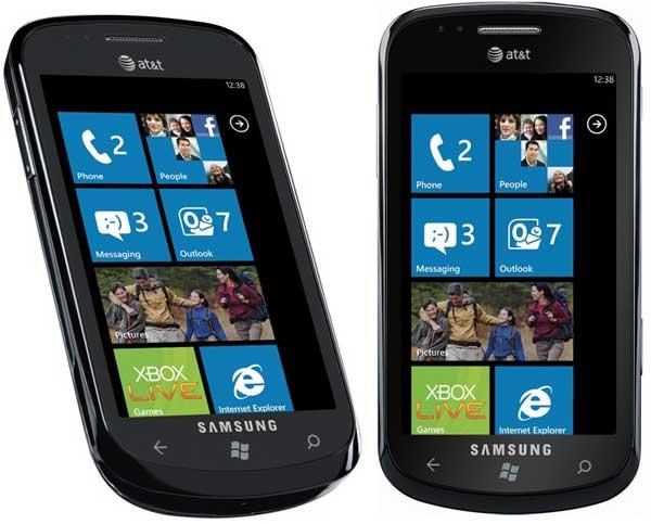 Samsung focus windows phone