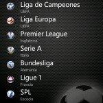 Liga + todo el Fútbol europeo en tu móvil