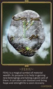 Rune Legend, Mitología y puzzles