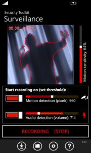 Security Toolkit, convierte tu móvil en un sistema de seguridad