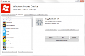 windows phone manager tool