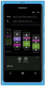 Nokia Transport App 7