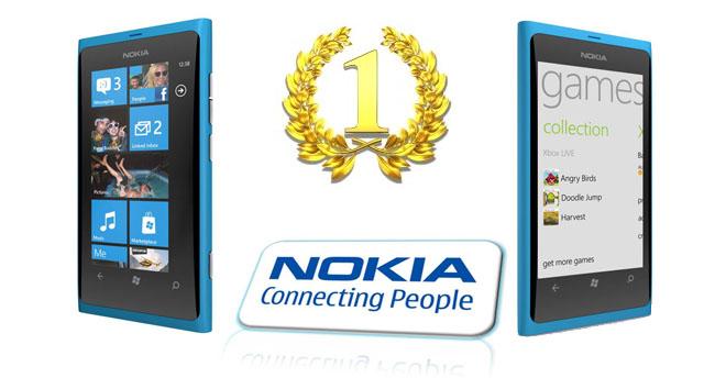 Nokia numero uno wp7