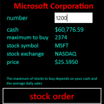 The Stock Game 3