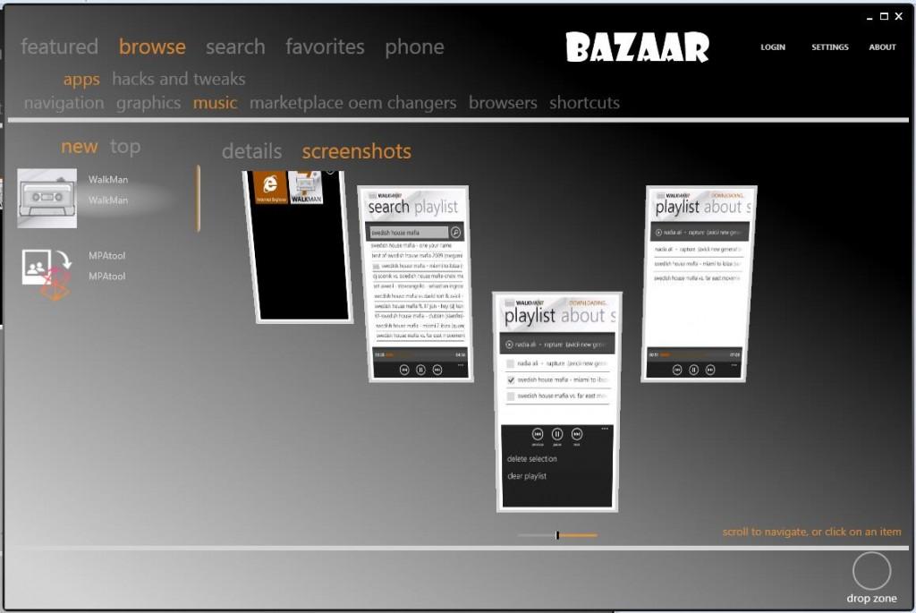 bazaar pc