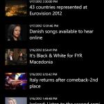 Eurovision 2012 en tu movil