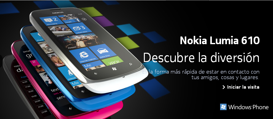 lumia 610 en Nokia España