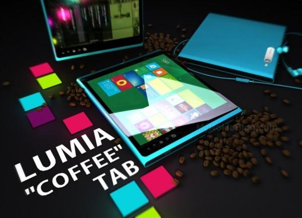 Nokia coffee tablet