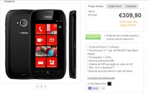Nokia Lumia 710 portugal