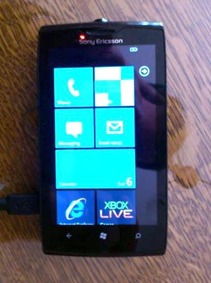 Sony Ericsson Julie Windows Phone prototipo en eBay