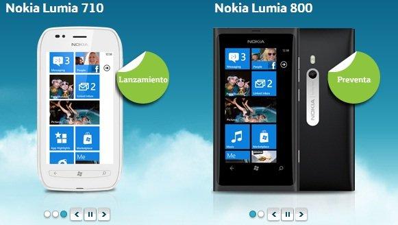 Nokia Lumia en México