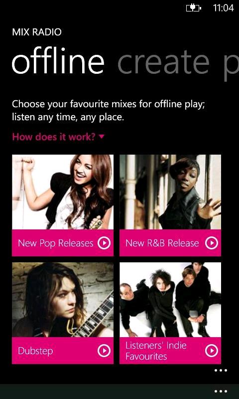Nokia Música se actualiza a v3.1
