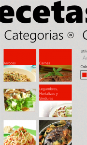 Las recetas del Chef, recetas con indicaciones por voz.