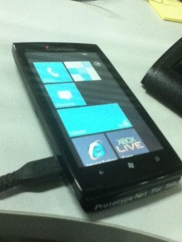 sony ericsson windowsphone 8