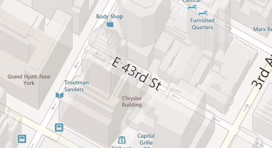 Bing 3D maps