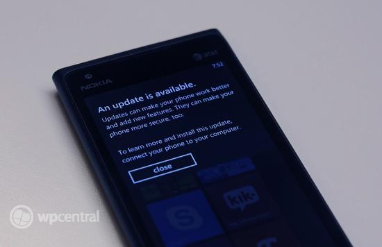 Nokia Lumia 900 Update