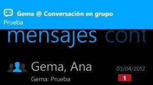 eBuddy chat en Grupo