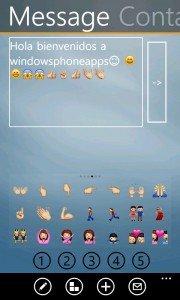 Emoji Keys Mensaje