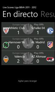 livescores Liga BBVA 2011-2012 5