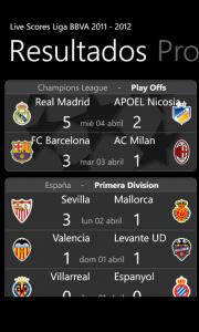 livescores Liga BBVA 2011-2012 6