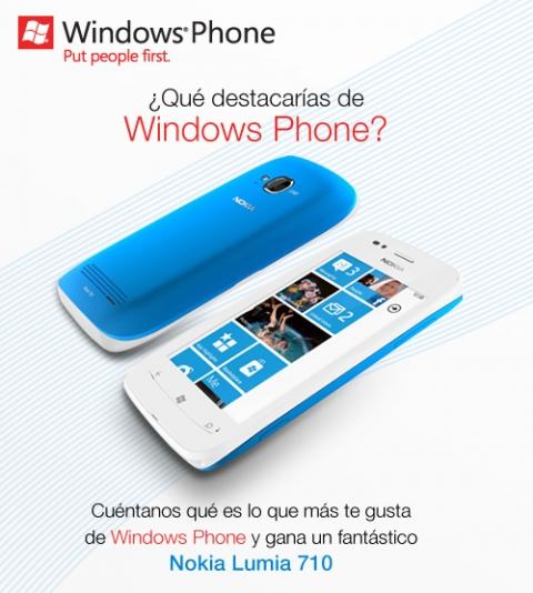 Promoción nokia lumia 710