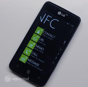 LG Fantasy e740_NFC