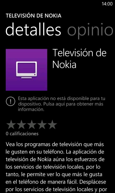 Nokia lanza Television de Nokia (Nokia TV)