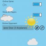 Airplanes, juego online de hundir la flota
