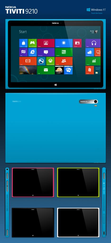 Nuevo concepto de una Tablet Lumia