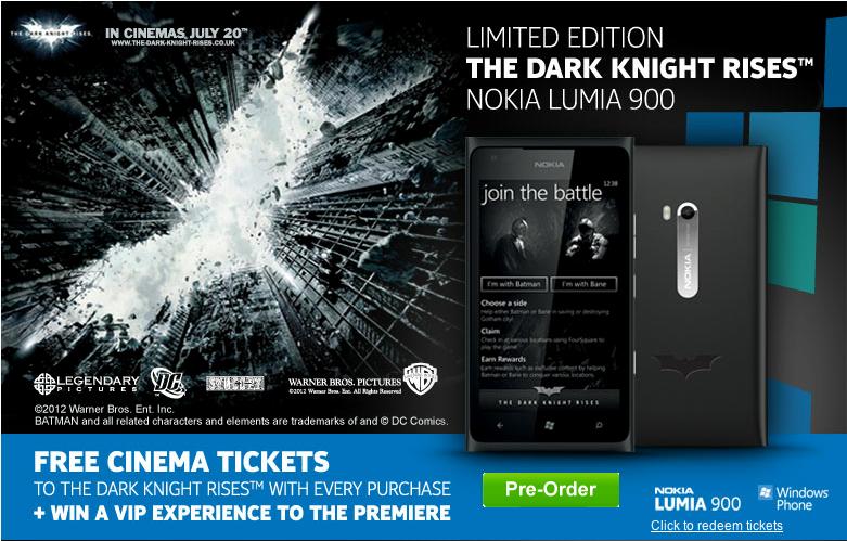 phones4u batman lumia 900