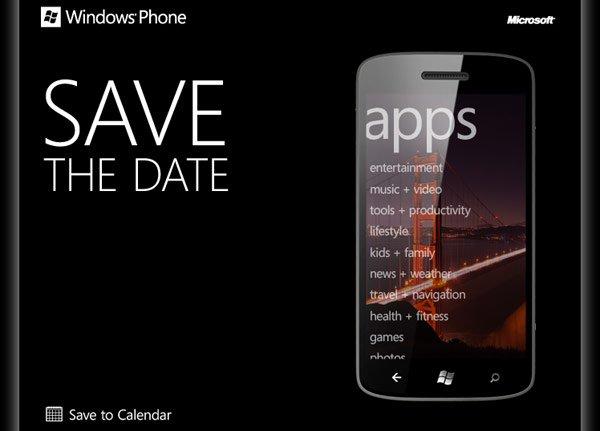 windows phone dev event