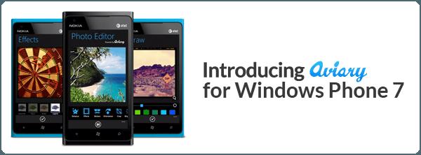 Aviary Windows Phone