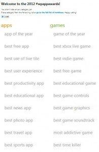 wp app awards
