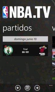 NBA.TV la aplicación oficial de la NBA ya disponible
