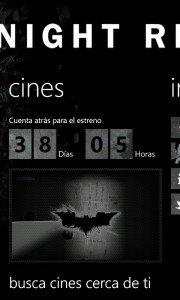The Dark Knight Rises aplicación oficial ya disponible en España