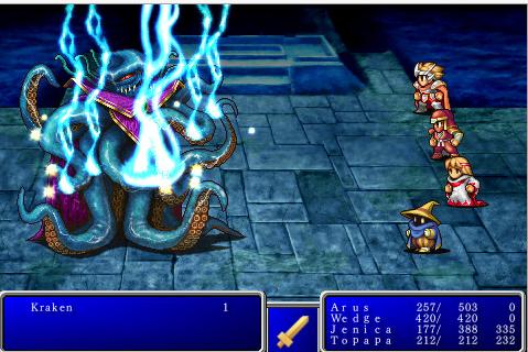 Final Fantasy para Windows Phone